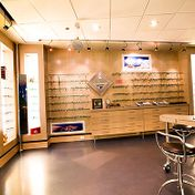 Edworthy Eye Center Glasses on Shelves