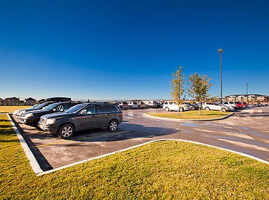 Westside Recreation Parking Lot